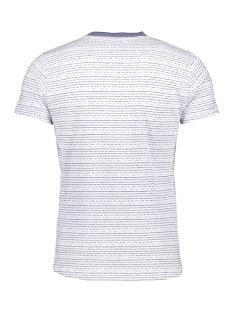 jaquard tshirt 90320409 no-excess t-shirt 136 indigo blue