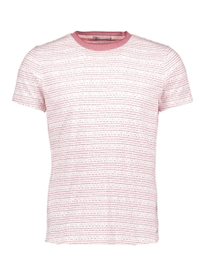 NO-EXCESS T-shirt JAQUARD TSHIRT 90320409 182 DK CHERRY