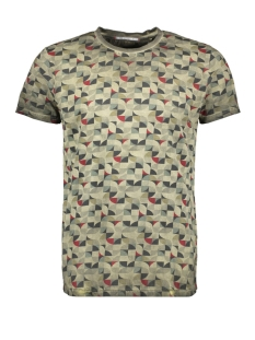 NO-EXCESS T-shirt ALL OVER PRINTED TSHIRT 90350413 059 DK ARMY