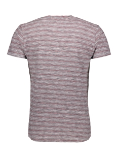 striped tshirt 90350451 no-excess t-shirt 182 dk cherry