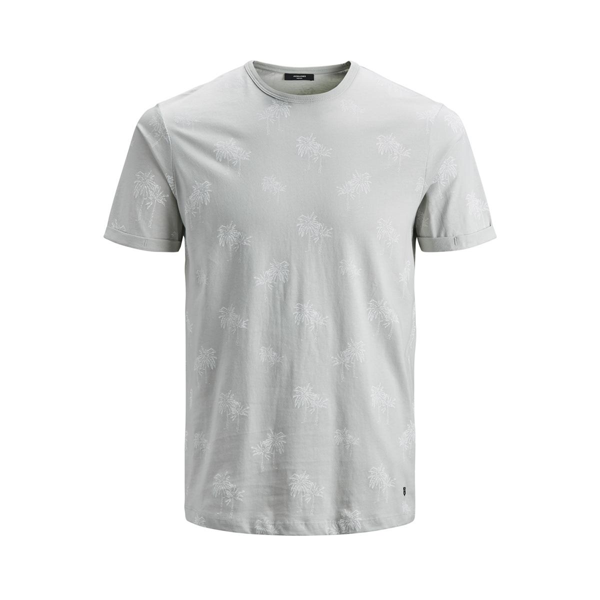 jprslam bla. tee ss crewneck 12153820 jack & jones t-shirt metal/slim fit