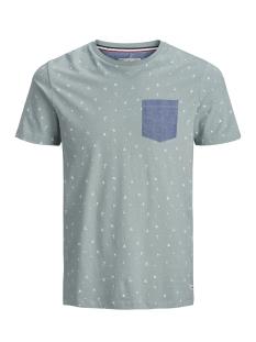 Produkt T-shirt PKTGMS SHORE AOP TEE SS 12153664 Slate