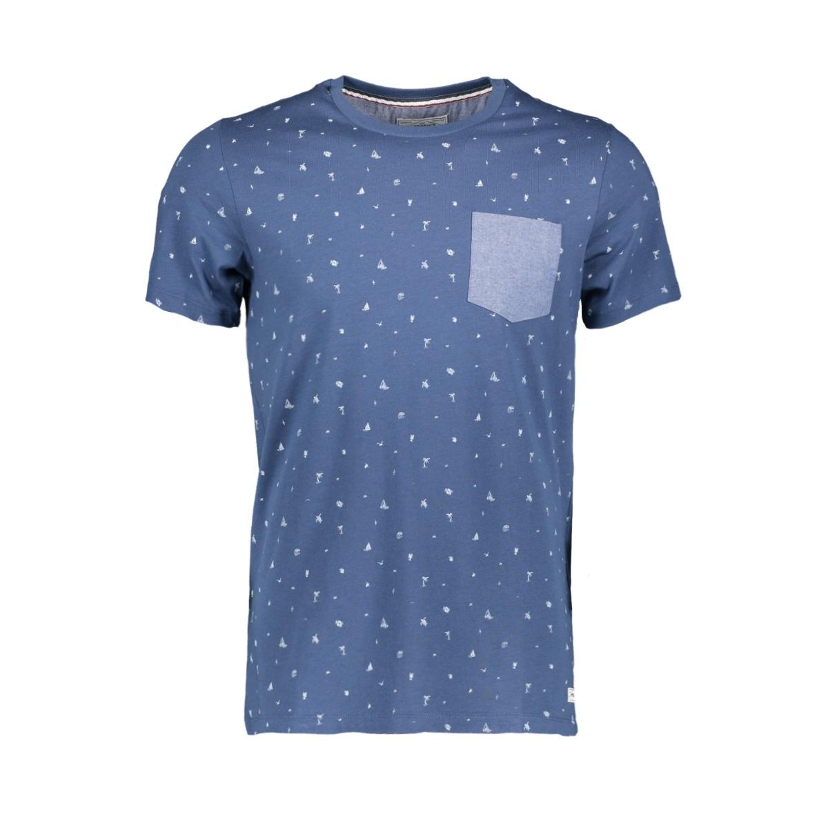 pktgms shore aop tee ss 12153664 produkt t-shirt dark denim