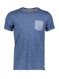 Produkt T-shirt PKTGMS SHORE AOP TEE SS 12153664 Dark Denim