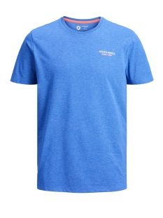 Jack & Jones T-shirt JCOSCALES TEE SS CREW NECK 12146190 Classic Blue