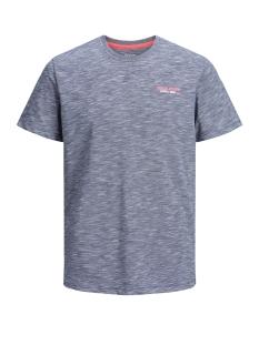 jcoscales tee ss crew neck 12146190 jack & jones t-shirt sky captain
