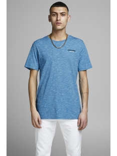 jcoscales tee ss crew neck 12146190 jack & jones t-shirt hawaiian ocean