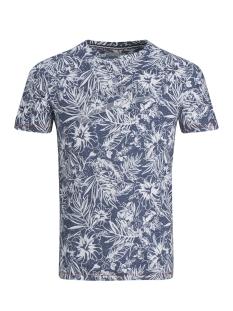 pktgms bay aop tee ss 12153674 produkt t-shirt dark denim