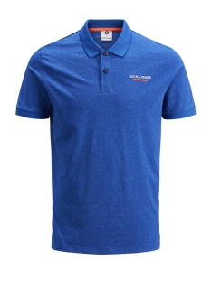 Jack & Jones Polo JCOSCALES POLO SS 12146195 Classic Blue