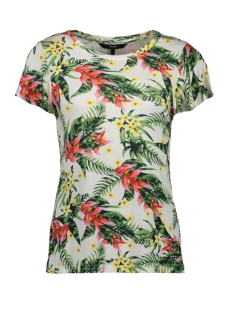 Vero Moda T-shirt VMLIZZY SS TOP JRS 10213948 Snow White/MOLLY