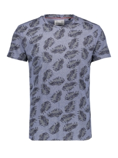 NO-EXCESS T-shirt ALL OVER PRINTED TSHIRT 90350406 136 INDIGO BLUE