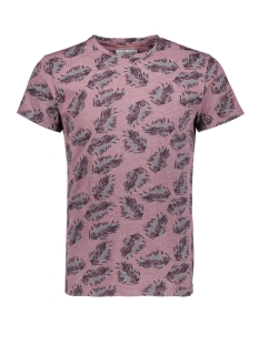 NO-EXCESS T-shirt ALL OVER PRINTED TSHIRT 90350406 182 DK CHERRY