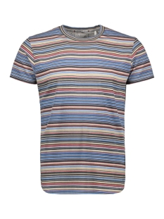 NO-EXCESS T-shirt MULTI COLOURED STRIPED TSHIRT 90350418 045 DESERT
