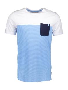 Jack & Jones T-shirt JCOSECT TEE SS CREW NECK 12152159 White