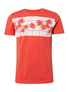 t shirt met palmenprint 1011367xx12 tom tailor t-shirt 11042