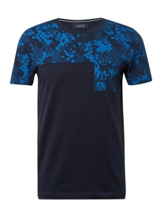 Tom Tailor T-shirt GESTREEPT TSHIRT MET PRINT 1010033XX12 10668