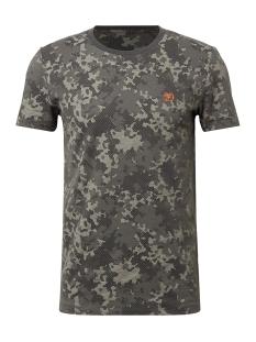 Tom Tailor T-shirt GESTREEPT TSHIRT MET PRINT 1010033XX12 17337