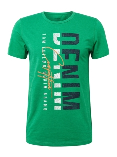 tshirt met tekst 1010029xx12 tom tailor t-shirt 17188