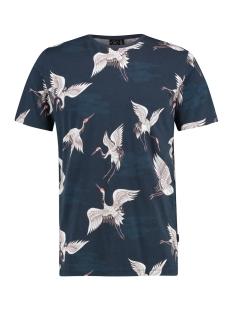 Kultivate T-shirt TS CRANE 1901020216 319 Dark Navy