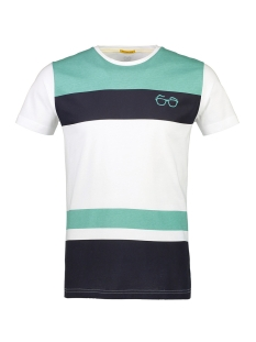 New in Town T-shirt T-SHIRT MET BLOKSTREPEN 8943071 434