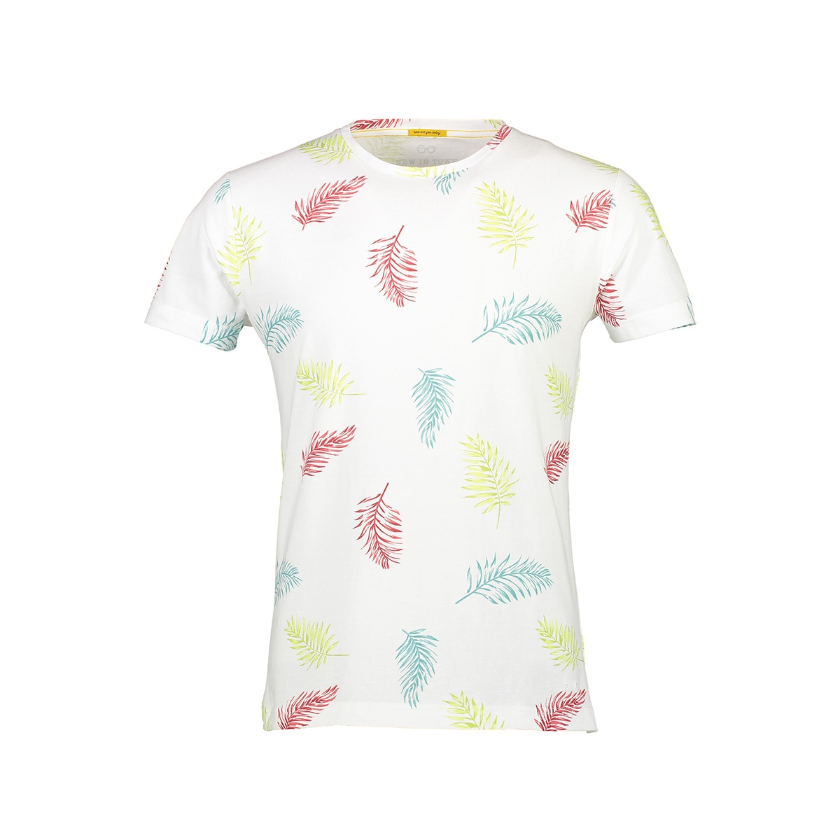 t-shirt met zomerse print 8943069 new in town t-shirt 100