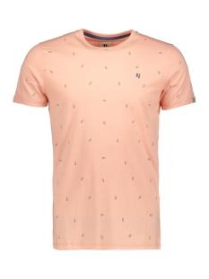 Garcia T-shirt TSHIRT MET ALLOVER PRINT E91006 3307 SALMON