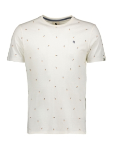 Garcia T-shirt T SHIRT MET ALLOVER PRINT E91006 53 OFF WHITE