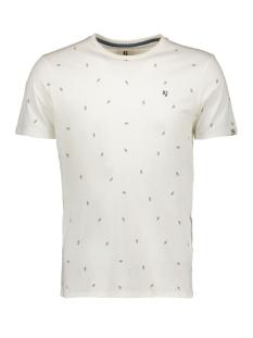 Garcia T-shirt TSHIRT MET ALLOVER PRINT E91006 53 OFF WHITE