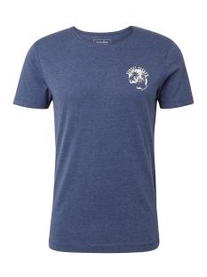 gestructureerd tshirt met print 1010045xx12 tom tailor t-shirt 10860