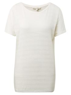 Tom Tailor T-shirt T SHIRT MET ELASTISCHE ZOOM 1010916XX71 10338