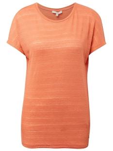 Tom Tailor T-shirt T SHIRT MET ELASTISCHE ZOOM 1010916XX71 11650