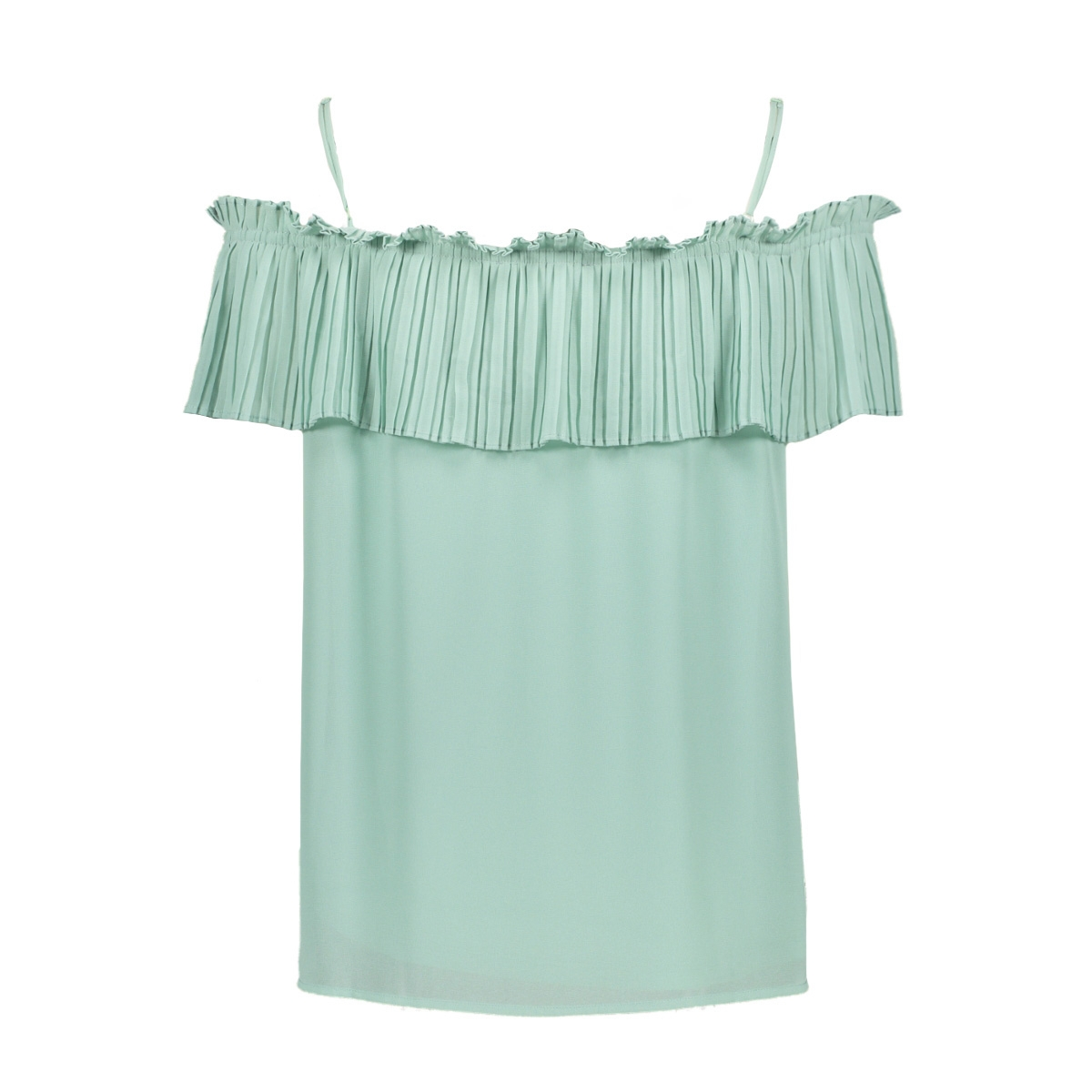Groen Shirt 2715 Shoulder Off E90001 Perfect Mint l1JTcKF3u
