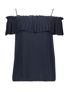 Garcia T-shirt DONKERBLAUW OFF SHOULDER SHIRT E90001 292 DARK MOON