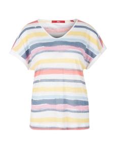 s.Oliver T-shirt SHIRT MET STREEPDESIGN 14905324214 52H9