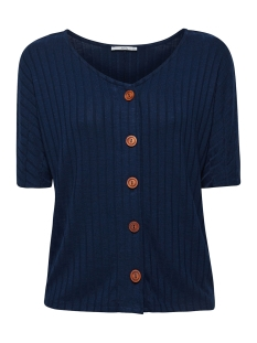 EDC T-shirt T SHIRT MET KNOOPSLUITING 059CC1K011 C400
