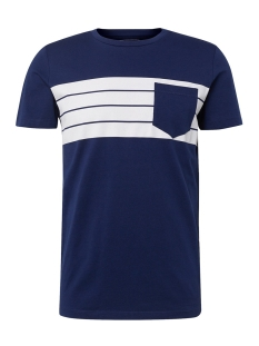 Tom Tailor T-shirt TSHIRT MET BORSTZAK 1011371XX12 10311