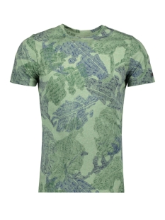 Cast Iron T-shirt SKETCHED RUBBERPLANT PRINT T SHIRT CTSS194302 6186