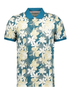 Produkt Polo PKTGMS HAWAII AOP POLO SS 12153688 Crystal Teal
