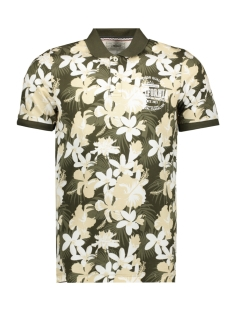 Produkt Polo PKTGMS HAWAII AOP POLO SS 12153688 Forest Night
