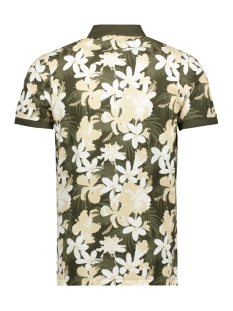 pktgms hawaii aop polo ss 12153688 produkt polo forest night
