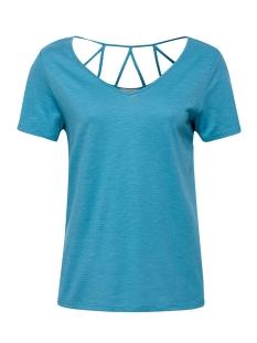 Esprit T-shirt SHIRT MET VERSIERD ACHTERPAND 059EE1K024 E455
