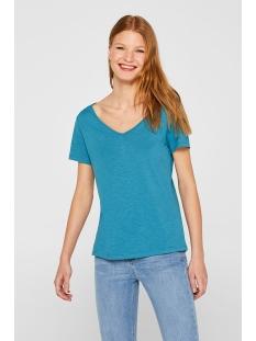 shirt met versierd achterpand 059ee1k024 esprit t-shirt e455