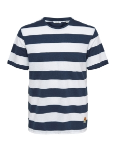 Only & Sons T-shirt onsPATTERSON SS REG TEE 22013051 Dress Blue