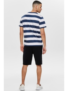 onspatterson ss reg tee 22013051 only & sons t-shirt dress blue