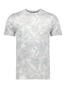 Produkt T-shirt PKTGMS HIBISCUS AOP TEE SS 12153906 Crystal Teal