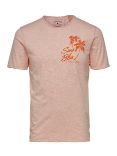 Only & Sons T-shirt onsSANDLER REG TEE NF 3104 22013104 Carnelian