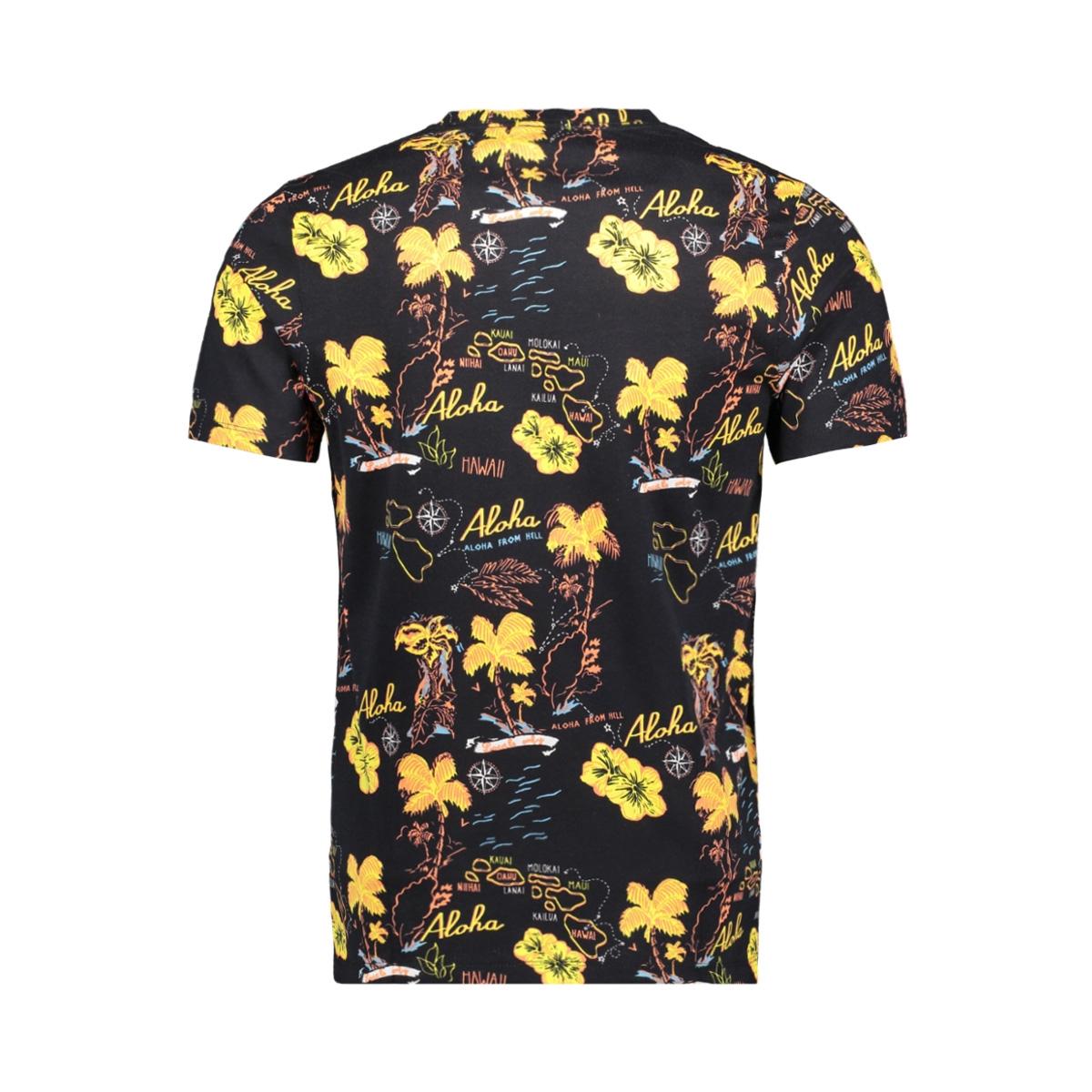 jormolokai tee ss crew neck 12152656 jack & jones t-shirt tap shoe/slim