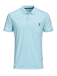Jack & Jones Polo JCOAND POLO SS 12155393 Gulf Stream/SLIM