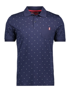 Jack & Jones Polo JCOAND POLO SS 12155393 Maritime Blue/SLIM
