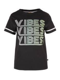 Q/S designed by T-shirt SPORTIEF SHIRT MET GLINSTERENDE TEKST 41905325284 99D0